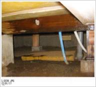 水漏れ、おかしいなと思ったら…<br /> 家には水が一番大敵です。<br /> そのままにして置くと白蟻が住み着いてしまいます。