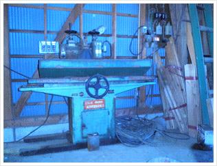 研磨機(カンナの刃を研ぐ)